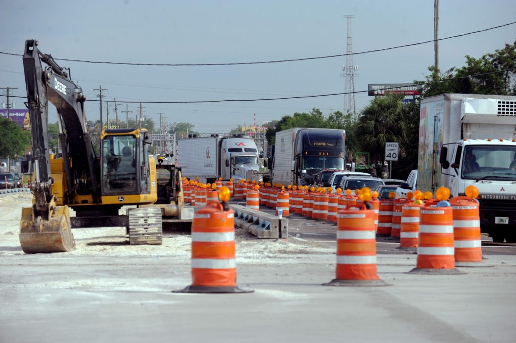 Concrete Repair Intersection