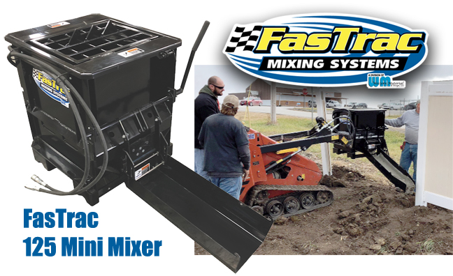FasTrac Mini Mixer Concrete
