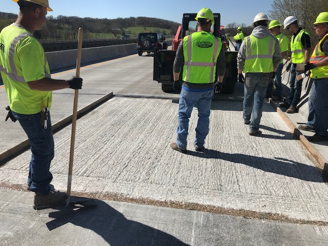 Hybrid Polymer Concrete Bridge Deck Repair Sedalia